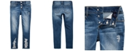 Imperial Star Big Girls Ripped Frayed Jeans