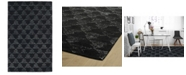 "Kaleen Evanesce ESE04-02 Black 3'6"" x 5'6"" Area Rug"
