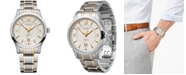 Victorinox Swiss Army Men's Automatic Alliance Mechanical Two-Tone Stainless Steel Bracelet Watch 40mm