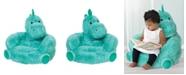 Trend Lab Children's Plush Dinosaur Character Chair