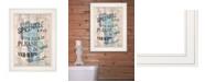 "Trendy Decor 4U Bathroom Humor by Debbie DeWitt, Ready to hang Framed print, White Frame, 15"" x 19"""