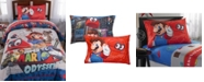 Franco Manufacturing Co Super Mario Twin 4-Piece Bed in a Bag