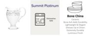 Noritake Summit Platinum Creamer, 8-1/4 Oz.