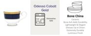 Noritake Odessa Cobalt Gold Cup, 7.75 Oz.