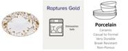 Noritake Raptures Gold Oval Platter