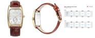 Hamilton Men's Swiss Boulton Brown Leather Strap Watch 27mm H13431553