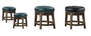 """Furniture Chromis 18"""" Stool (Set of 2)"""