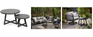 Furniture Braxtyn Outdoor Round Nesting Coffee Table, Created for Macy's