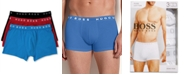BOSS Men's Underwear, Cotton Trunk 3 Pack