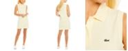 Lacoste Sleeveless Cotton Piqué Polo Dress