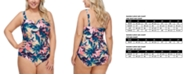 Raisins Curve Trendy Plus Size Maspalomas Malaga One-Piece Swimsuit