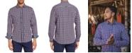 Brooklyn Brigade Men's Slim-Fit All Knit Queensland Long Sleeve Shirt