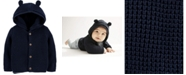 Carter's Baby Boys Hooded Cotton Cardigan Sweater