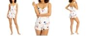 INC International Concepts INC Satin Cami & Shorts Pajama Set, Created for Macy's