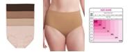 Bali Women's Comfort Revolution® EasyLite Brief Underwear DFEL61