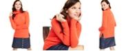 Charter Club Cashmere Rib-Trim Turtleneck Sweater, Regular & Petite Sizes, Created for Macy's