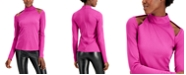 INC International Concepts INC Cutout Mock-Neck Top, Created for Macy's