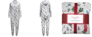 Family Pajamas Matching Women's Festive Trees Onesie Created for Macy's
