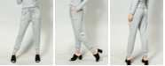 COIN 1804 Women's Cozy Contrast Stitch Pocket Jogger