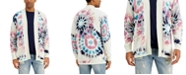 Sun + Stone Men's Tie-Dye Cardigan Sweater, Created for Macy's