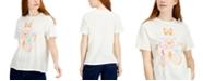 Self Esteem Juniors' Butterfly Astro-Graphic Oversized T-Shirt