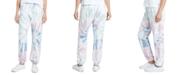 Dickies Juniors' Tie-Dyed Logo Graphic Sweatpants