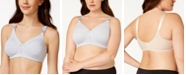 Bali Double Support Cotton Wireless Bra with Cool Comfort 3036