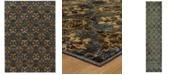"JHB Design Journey Vella Blue 1'10"" x 3'2"" Area Rug"