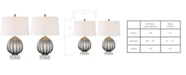 Kathy Ireland Pacific Coast Set of 2 Harby Table Lamps