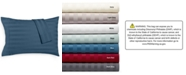 AQ Textiles Bergen Stripe Certified 100% Egyptian Cotton 1000-Thread Count King Pillowcases, Set of 2