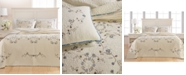Martha Stewart Collection CLOSEOUT! Westminster Vines Cotton Queen Bedspread, Created for Macy's