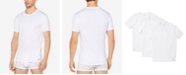 Michael Kors Men's Performance Cotton Crew-Neck Undershirts, 3-Pack