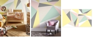 Graham & Brown Pastel Geometric Wall Mural Wallpaper