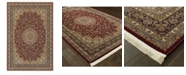 "JHB Design  Paragon Medallion Red 5'3"" x 7'6"" Area Rug"