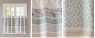 """Madison Park Dawn Cotton 60"""" x 36"""" Printed and Pieced Rod Pocket Kitchen Tiers"""