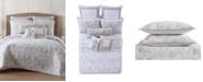 Oceanfront Resort Tropical Plantation Toile Twin XL Quilt Set