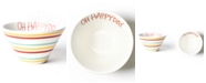 Happy Everything Oh Happy Day Mod Small Bowl