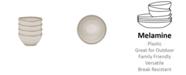 Q Squared Potter Stone Melaboo 4-Pc. Dip Bowl Set