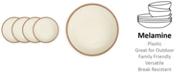 Q Squared Potter Terracotta Melaboo 4-Pc. Salad Plate Set
