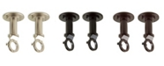 Rod Desyne 1 inch Industrial Pipe Wall/Ceiling Single Bracket (pair)