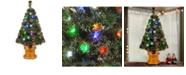 "National Tree Company National Tree 36"" Fiber Optic Evergreen Fireworks"