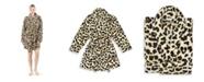 Linum Home Super Plush Leopard Bath Robe