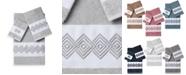 Linum Home Noah 3-Pc. Embellished Towel Set