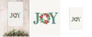 Linum Home CLOSEOUT!  Christmas Joy 100% Turkish Cotton Hand Towel