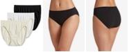 Jockey Comfies® Cotton French Cut Underwear - 3 pack 3347