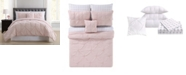 Truly Soft Arrow Pleated Queen Bed in a Bag