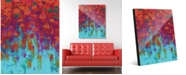 "Creative Gallery Aodh Gamma Abstract 16"" x 20"" Acrylic Wall Art Print"