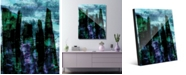 "Creative Gallery Atarra Beta Abstract 20"" x 24"" Acrylic Wall Art Print"