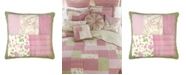 American Heritage Textiles Bashful Rose Cotton Quilt Collection, Accessories