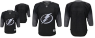 Authentic NHL Apparel Big Boys Tampa Bay Lightning Alternate Blank Replica Jersey